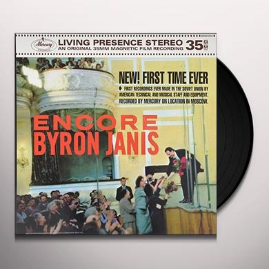 Byron Janis ENCORE Vinyl Record - 180 Gram Pressing