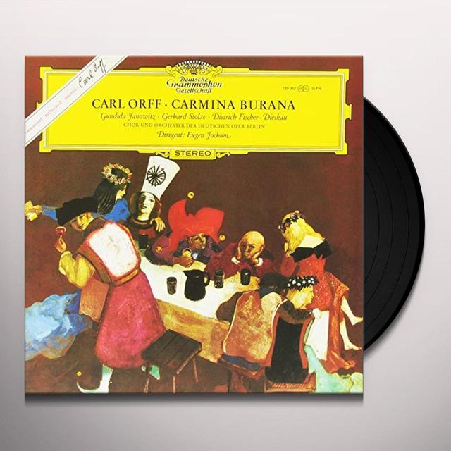 Eugen Jochum ORFF: CARMINA BURANA Vinyl Record - 180 Gram Pressing