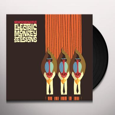 New Cool Collective ELECTRIC MONKEY SESSIONS Vinyl Record - Holland Import