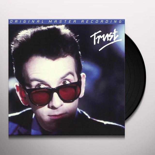 Elvis Costello & The Attractions TRUST Vinyl Record - Limited Edition, 180 Gram Pressing