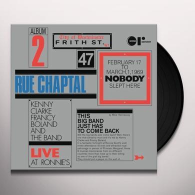 Kenny Clarke & Francy Boland RUE CHAPTAL Vinyl Record