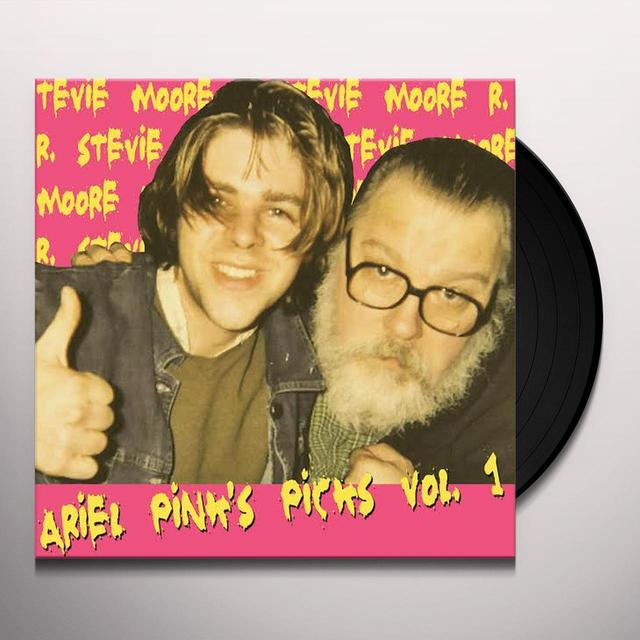 R. Stevie Moore ARIEL PINKS PICKS 1 Vinyl Record - Digital Download Included