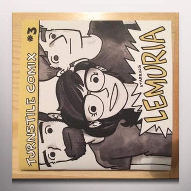 Lemuria TURNSTILE COMIX 3 Vinyl Record