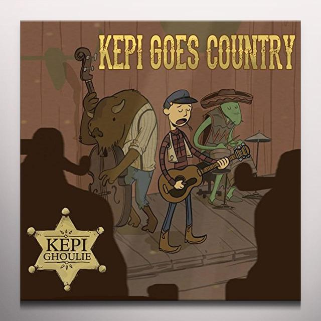 Kepi Ghoulie KEPI GOES COUNTRY Vinyl Record - Colored Vinyl, Digital Download Included