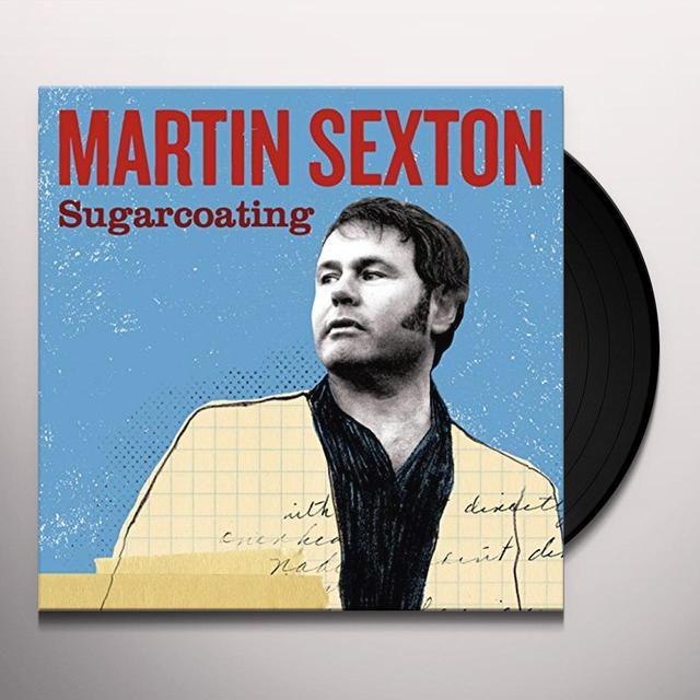 Martin Sexton SUGARCOATING Vinyl Record - 180 Gram Pressing, Autographed
