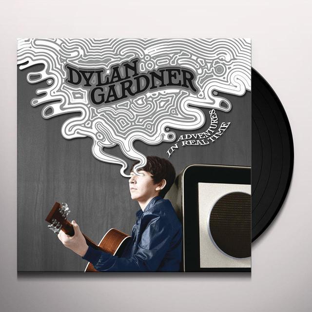 Dylan Gardner ADVENTURES IN REAL TIME Vinyl Record - Digital Download Included