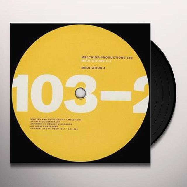 Melchior Productions MEDITATIONS 4-6 Vinyl Record