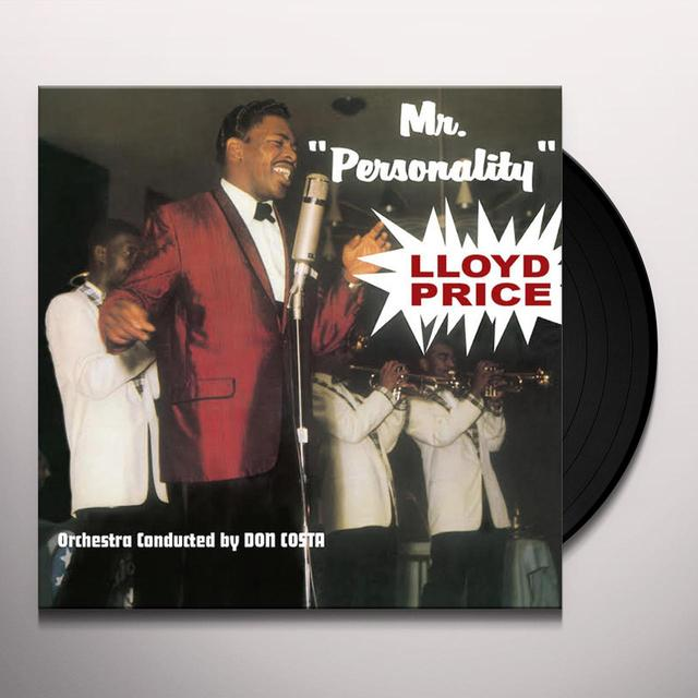 Lloyd Price MR. PERSONALITY Vinyl Record