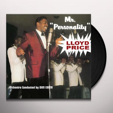 Lloyd Price MR. PERSONALITY Vinyl Record