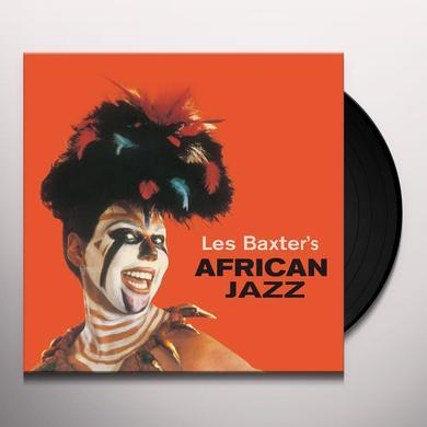Les Baxter AFRICAN JAZZ Vinyl Record
