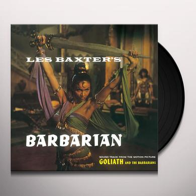 Les Baxter BARBARIAN Vinyl Record