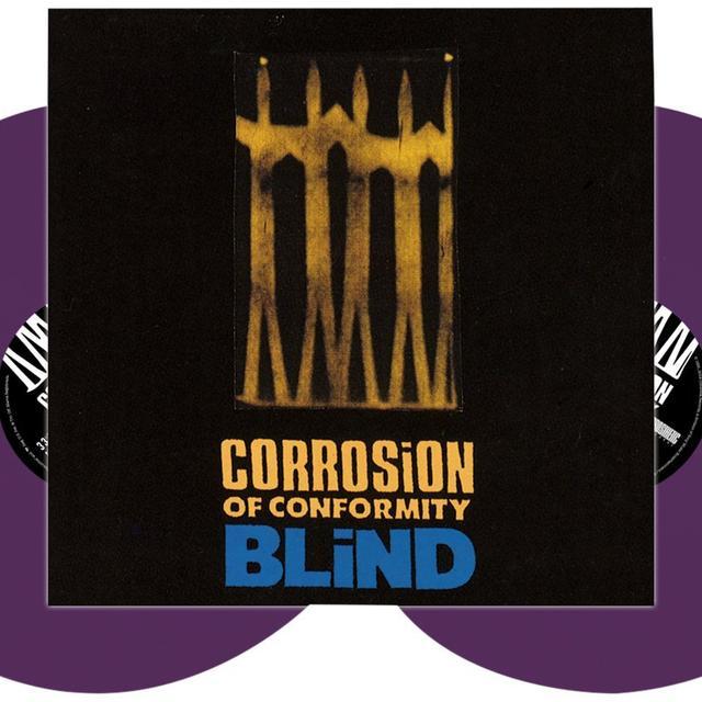 Corrosion Of Conformity BLIND (PURPLE VINYL) Vinyl Record