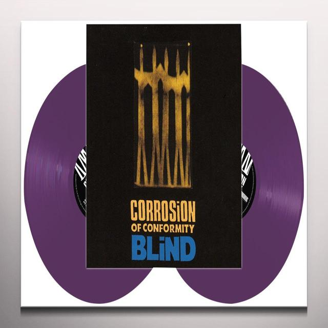 Corrosion Of Conformity BLIND (PURPLE VINYL) Vinyl Record - Colored Vinyl