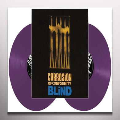 Corrosion Of Conformity BLIND (PURPLE VINYL) Vinyl Record