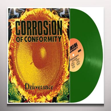 Corrosion Of Conformity DELIVERENCE (GREEN VINYL) Vinyl Record - Colored Vinyl