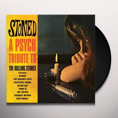 STONED - A PSYCH TRIBUTE TO THE ROLLING / VARIOUS Vinyl Record