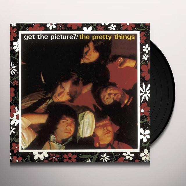 The Pretty Things GET THE PICTURE Vinyl Record