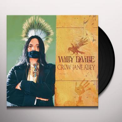 Willy Deville CROW JANE ALLEY Vinyl Record - Portugal Import