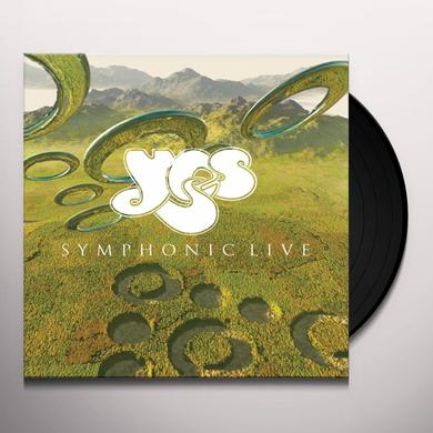Yes SYMPHONIC LIVE Vinyl Record