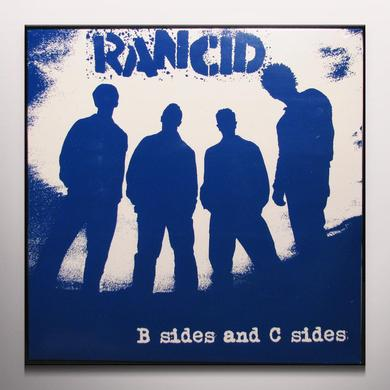 Rancid B-SIDES & C-SIDES Vinyl Record - Blue Vinyl, Limited Edition