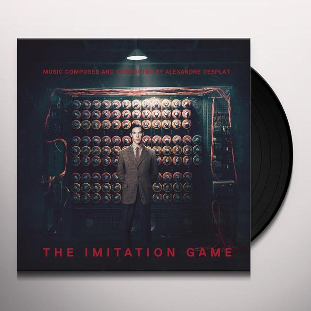 Alexandre Desplat IMITATION GAME / O.S.T. Vinyl Record - Portugal Import
