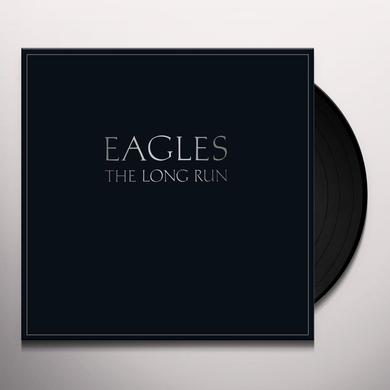 The Eagles and Glenn Frey LONG RUN Vinyl Record - 180 Gram Pressing