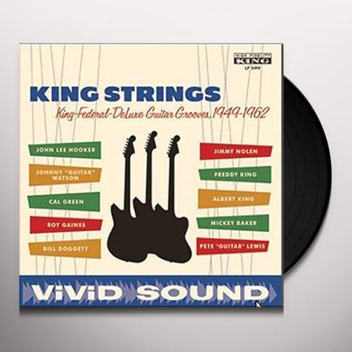 KING STRINGS KING FEDERAL DELUXE GUITAR GROOVES 1949-1962 Vinyl Record