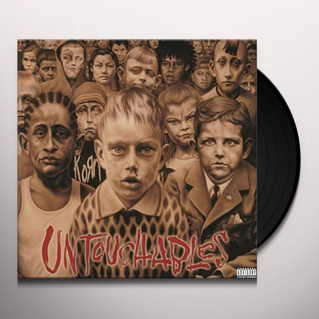 KoRn UNTOUCHABLES Vinyl Record - Holland Import