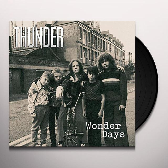 Thunder WONDER DAYS Vinyl Record