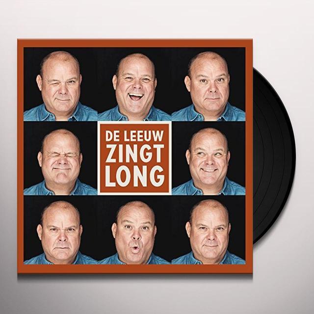 Paul de Leeuw DE LEEUW ZINGT LONG Vinyl Record - Holland Import