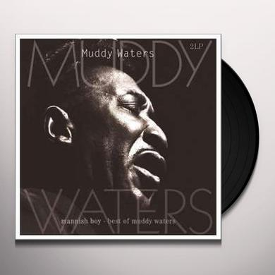 Muddy Waters MANNISH BOY-BEST OF Vinyl Record - Holland Import