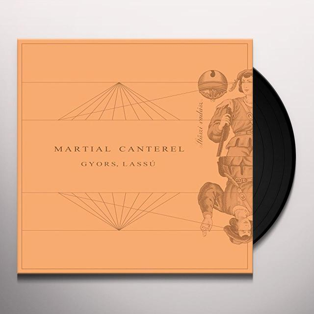 Martial Canterel GYORS LASSU Vinyl Record - UK Import