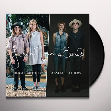 Justin Townes Earle SINGLE MOTHERS / ABSENT FATHERS Vinyl Record - UK Import