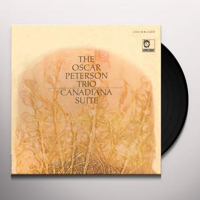 Oscar Peterson CANADIANA SUITE Vinyl Record - Canada Import