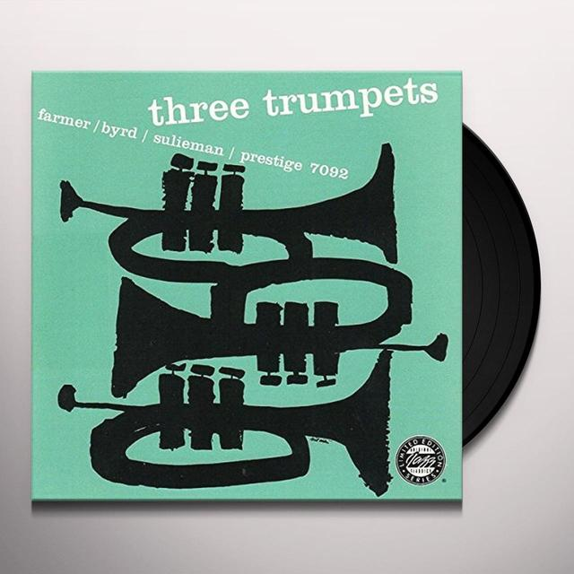 Byrd Farmer / Sulieman THREE TRUMPETS Vinyl Record - Holland Import
