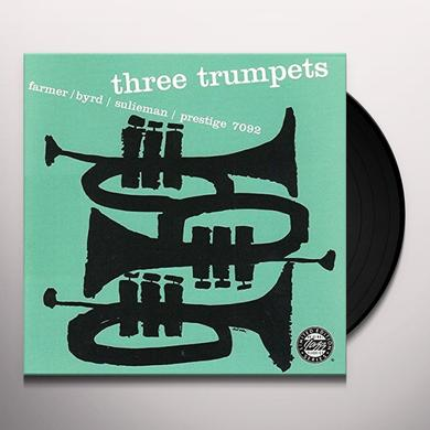 Byrd Farmer / Sulieman THREE TRUMPETS Vinyl Record