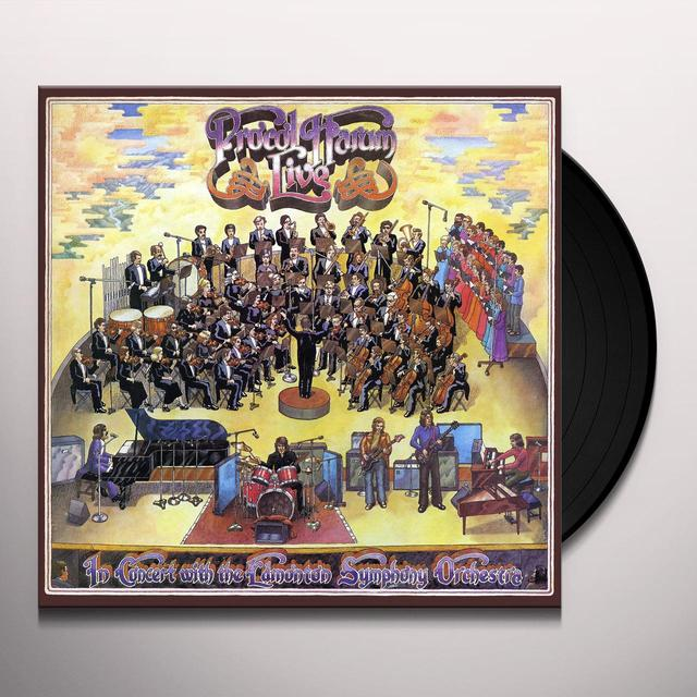 Procol Harum LIVE IN CONCERT WITH THE EDMONTON SYMPHONY Vinyl Record - UK Release