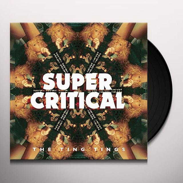 The Ting Tings SUPER CRITICAL (UK) (Vinyl)