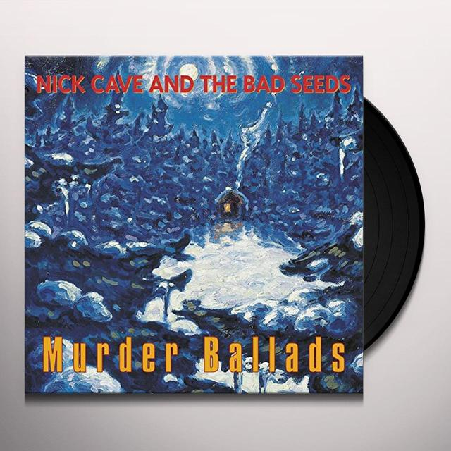 Nick Cave MURDER BALLADS Vinyl Record - UK Import