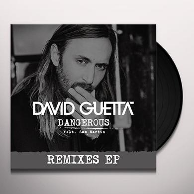 David Guetta DANGEROUS Vinyl Record - UK Import