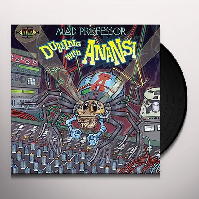 Mad Professor DUBBING WITH ANANSI Vinyl Record - UK Import