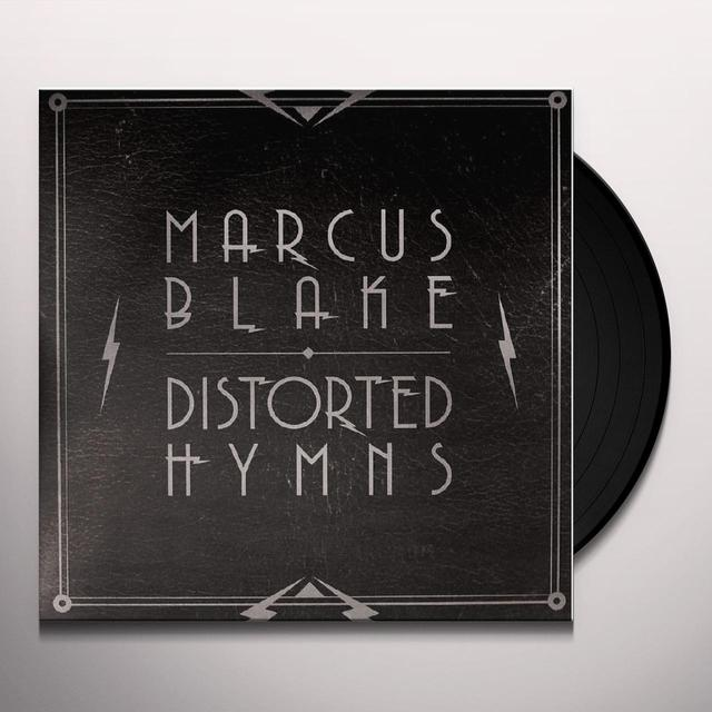 Marcus Blake DISTORTED HYMNS Vinyl Record - UK Import