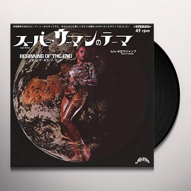 Beginning Of The End SUPER WOMAN Vinyl Record - Japan Import