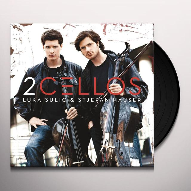 2CELLOS Vinyl Record - 180 Gram Pressing