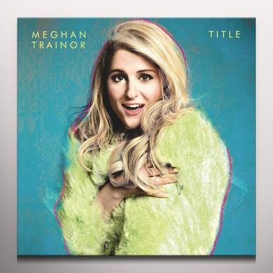 Meghan Trainor TITLE Vinyl Record - Colored Vinyl, Digital Download Included