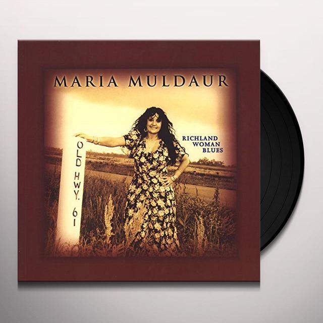 Maria Muldaur RICHLAND WOMAN BLUES Vinyl Record - 180 Gram Pressing