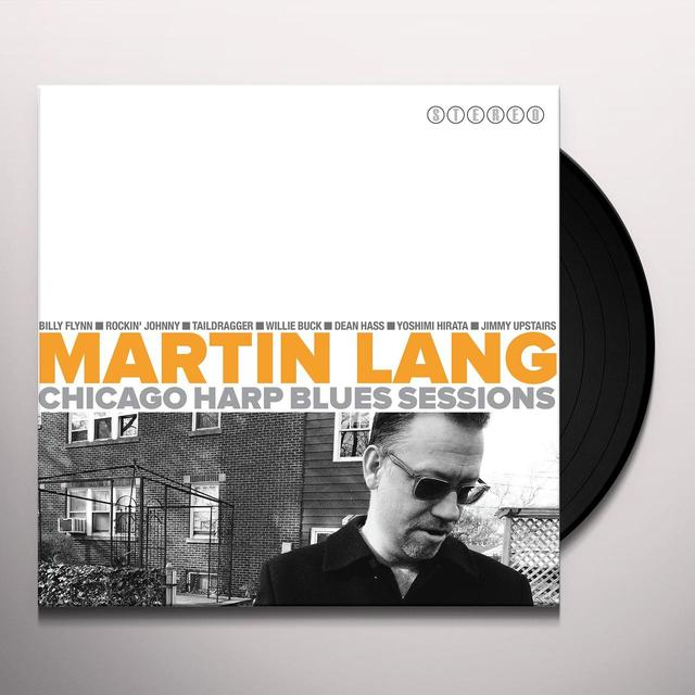Martin Lang CHICAGO BLUES HARP SESSIONS (Vinyl)