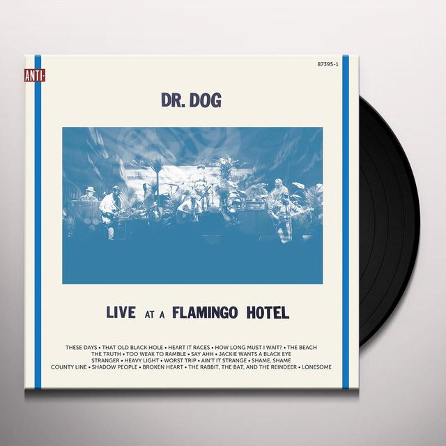 Dr. Dog LIVE AT A FLAMINGO HOTEL Vinyl Record - Digital Download Included