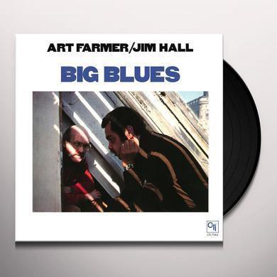 Art Farmer / Jim Hall BIG BLUES Vinyl Record - Limited Edition