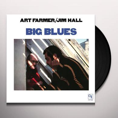 Art Farmer / Jim Hall BIG BLUES Vinyl Record - Limited Edition